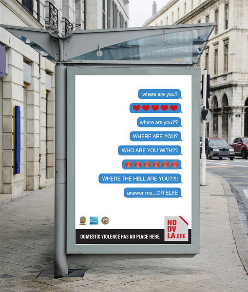 City of LA - Domestic Violence Campaign
